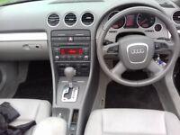 Audi A4 auto convertible.