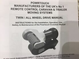 All wheel drive caravan for twin axle caravans brand new
