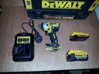 DEWALT XR 18V LI ION BRUSHLESS IMPACT DRIVER TOOL SET