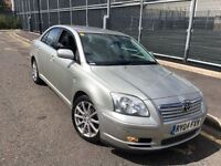 TOYOTA AVENSIS 2.0 VVTI = AUTOMATIC = £990 ONLY =