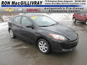 2013 Mazda MAZDA3 GX, ..1 Owner, Low Kms, Great Fuel efficiency