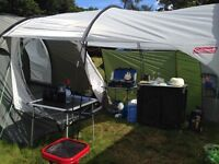 Tent, Porch and Windbreaker
