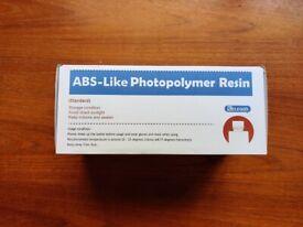 ELEGOO ABS-Like / Non-Brittle 405nm UV-Curing 3D Resin - Clear Blue 1000g