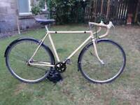 vintage single speed road bike