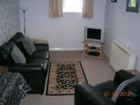 Fully furnished and equipped two bed flat to rent