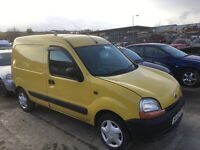 Renault kangoo 1.5 dci parts doors wings seats radiator