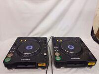 A pair of Pioneer CDJ 1000 MK3
