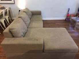Corner sofa bed for sale, pick up only.