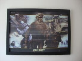 Call of Duty Framed Picture