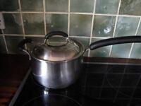 Meyer large stainless steel saucepan