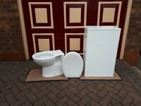 Toilet and back unit brand new