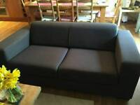 Free two seater Brown sofa