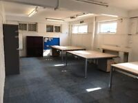 Vacant Offices for Rent 3 Offices 1 Bathroom 710 sq. ft total - Rates Included - £11,500 pa TOTAL