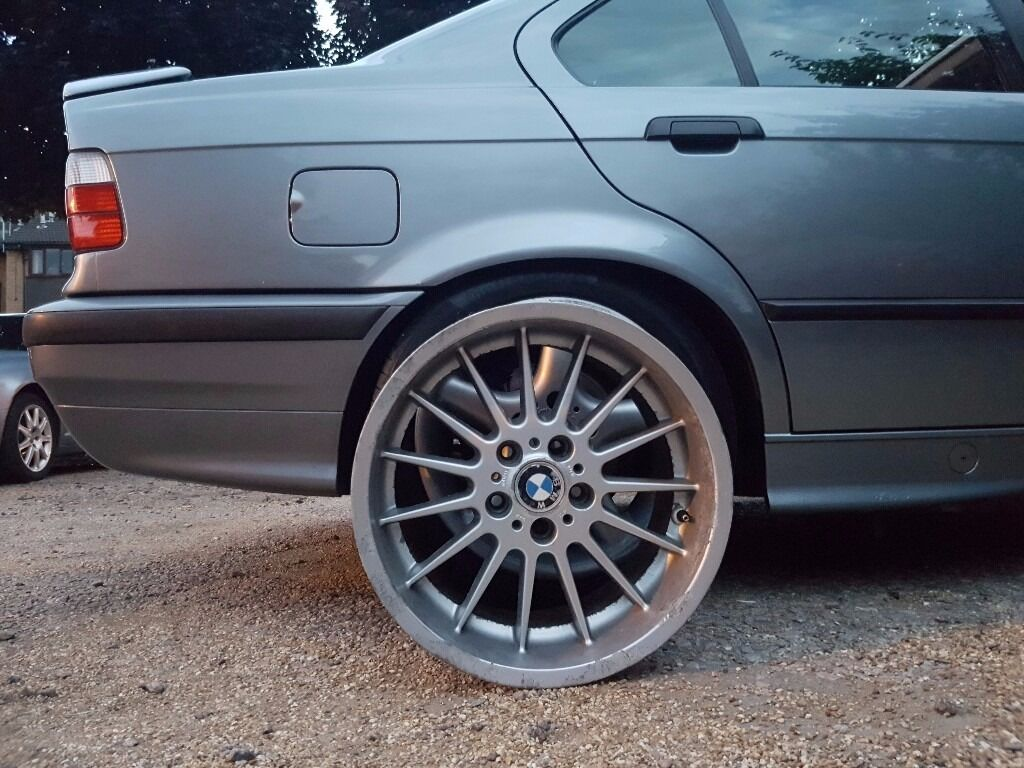 Alloy Wheels Genuine 32 Style 18 Inch Dip Dish Fit Bmw E38