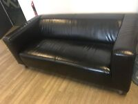 Black sofa - to be sold urgently