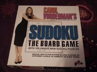 Carol Vorderman's Sudoku board game