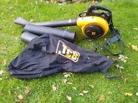 JCB petrol leaf blower / vacuum.