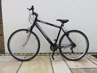 "Men's Apollo Transition Hybrid Sport Bike 21"" Frame 700c Wheels Shimano Sram Gears 24 Speed"