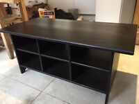 Black coffee table, very good condition, DELIVERY