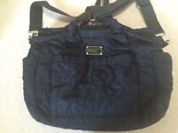 Black Marc Jacobs changing bag and mat