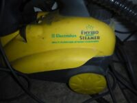 steam cleaner with accessories. rarely used
