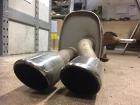 2 x Genuine 2010 Citroen DS3 1.6 THP exhaust sections
