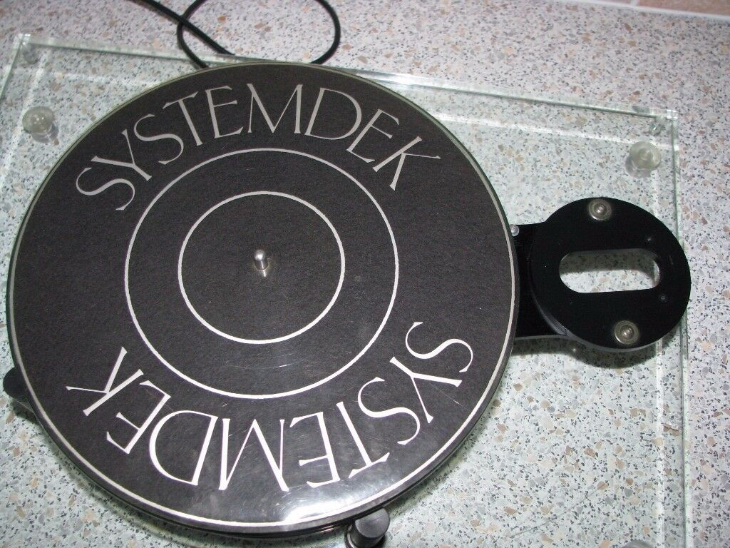 Systemdek 11 Turntable / Record Player Rare HiFi