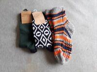 X3 one pair socks