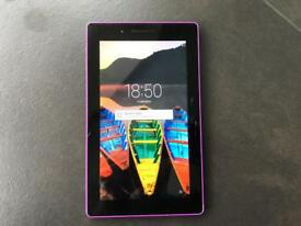 """Lenovo tab 3 7"""" wifi android tablet (cracked but working)"""