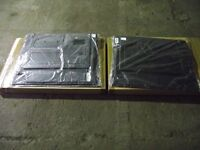 LAND ROVER .Black door case for lift up handles. LH AND RH. NEW