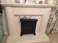 Lime Stone Natural fire surround only