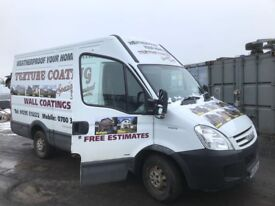 Iveco daily spare parts available breaking van