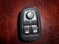 Peugeot 206 cc GTi ELECTRIC WINDOW / WING MIRROR SWITCH PACK 11857