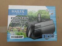 Hailea pond pump.