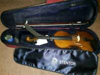 4/4Stentor violin with accessories for sale