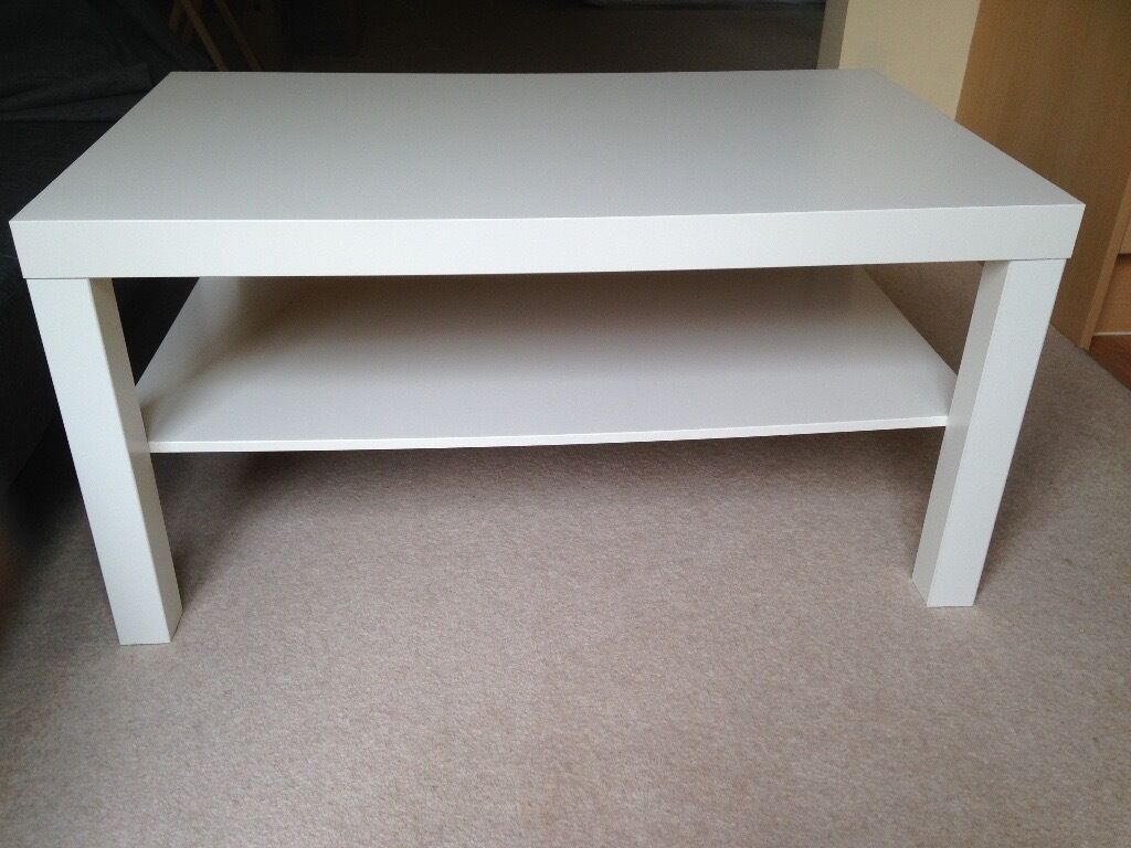 ikea lack coffee table white in oxford oxfordshire gumtree. Black Bedroom Furniture Sets. Home Design Ideas