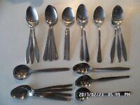 84 assorted k*****s, forks, dessert spoons, teaspoons