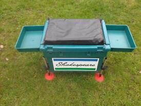 Shakespeare fishing box and bait stand