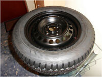 185/60R14 82 H - Honda Jazz - Bridgestone A001 Weather Control (steel wheel and tyre)