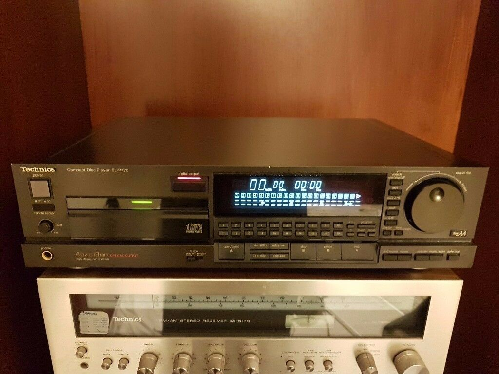 Technics SL P770 CD player - Legend Rare Vintage 1989 Japan