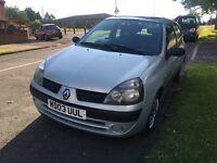 Renault Clio 2003 1.2L Clean Good First Car!!