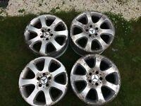 Alloy wheels 17ich for Mercedes 7.5Jx17 ET37