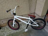 White Haro Customised BMX Good Condition