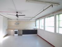 Superb live/work 1150sqft Studio Art Space..with Huge workshop area and facilities!