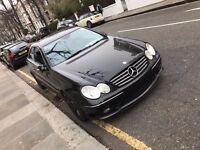 QUICK SALE, FULLY LOADED MERCEDES CLK 240 V6 AMG SPEC, 95K, £2550 PX SMALL VAN