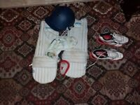 Junior Cricket Equipment. Suitable for Under 15