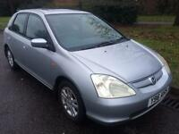 2001 Honda Civic 1.6 i-VTEC SE Executive 5 door Hatchback