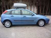 Lovely 2002 FORD FOCUS 1.6 LX AUTOMATIC. Only 3 Owners, 9 Services and MOT until January 2018!!!