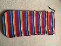 Genuine BuggySnuggle Warm Stripes, excellent condition.