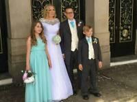 Mint green bhs 12-13 yr bridesmaid dress